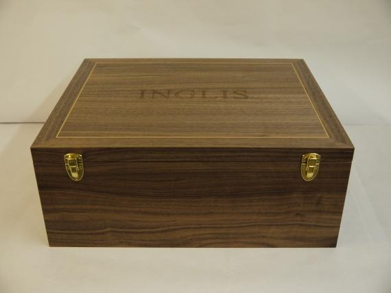 Black Walnut Heirloom Box
