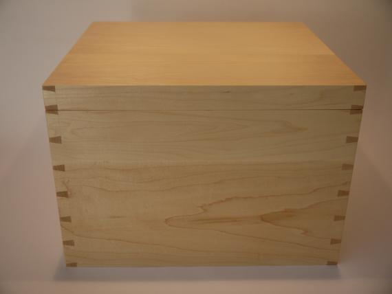 Large Maple Storage Case