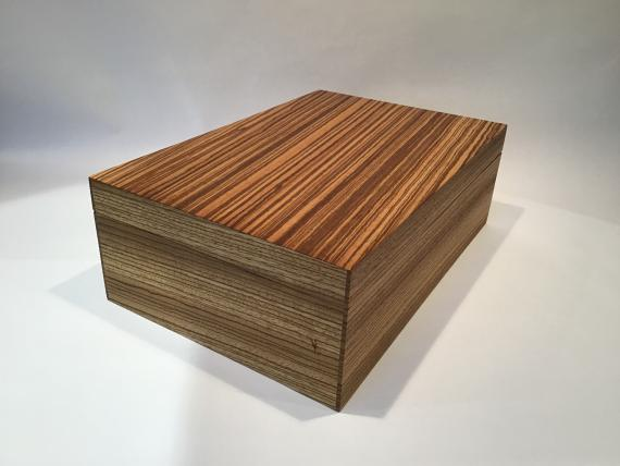 Picture of Zebrano Jewellery Box