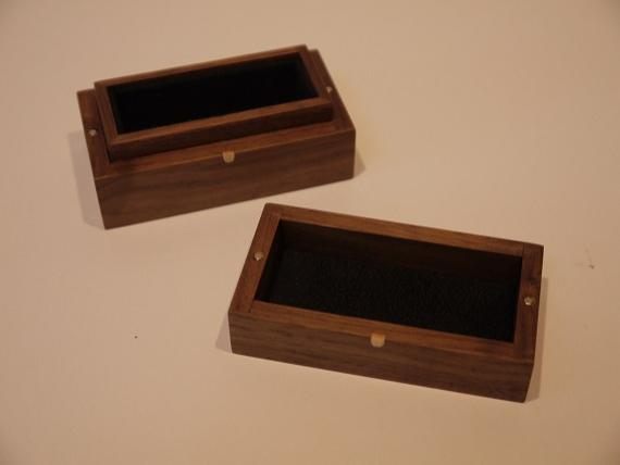 American Black Walnut Trinket Box