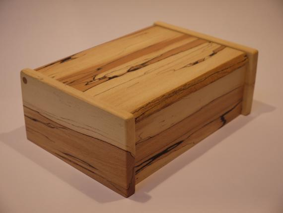 Picture of Spalted Beech Desk Box