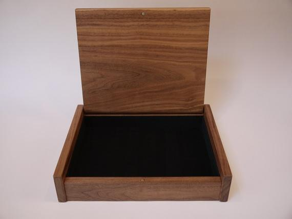 Black Walnut Desk Box
